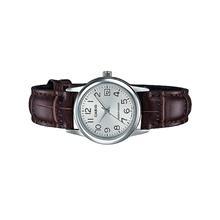 Casio Ladies Analog Leather Date Watch LTP-V002L-7B2UDF