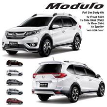 HONDA BRV MODULO Full Set ABS Body Kit Skirt and Spoiler with Paint
