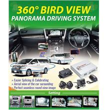 TOYOTA ALPHARD VELLFIRE ANH30 2015-18 360° Degree Bird View Camera Kit