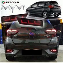 PERODUA MYVI 2018 Sequential Rear Bumper LED Light with Turn Signal