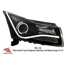 CHEVROLET CRUZE 2008 - 2015 EAGLE EYES CCFL LED Projector Head Lamp
