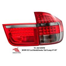 BMW X5 X-SERIES 2007 - 2009 EAGLE EYES Red Smoke LED Tail Lamp
