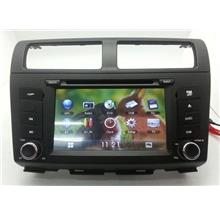 PERODUA MYVI Lagi Best 2011-14 DLAA 7' Double Din GPS DVD SD TV Player
