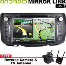 PERODUA ALZA DLAA 9' Mirror Link Double Din GPS DVD MP3 USB TV Player