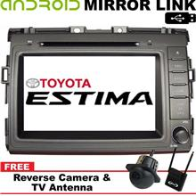 TOYOTA ESTIMA ACR50 06-17 8' Mirror Link Double Din GPS DVD TV Player