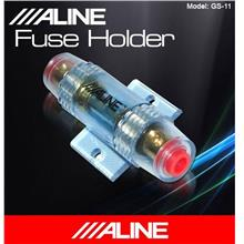 ALINE GS-11 High Voltage Transmition Gold Plated Amplifier Fuse Holder