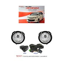TOYOTA AVANZA 2012: TRIO OEM Fog Lamp Spot Light w/ Wire Kit [T87474]