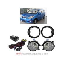 TOYOTA AVANZA 2008: TRIO OEM Fog Lamp Spot Light w/ Wire Kit [T87372]