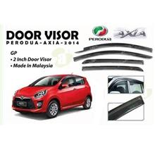 PERODUA AXIA 2014 Anti UV Light Premium Injection Door Visor (AL)