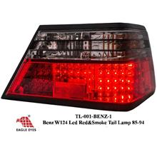 MERCEDES BENZ MASTERPIECE W124 EAGLE EYES Smoke & Red LED Tail Lamp