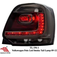 VOLKSWAGEN POLO 2008 - 2012 EAGLE EYES Full Smoke LED Tail Lamp