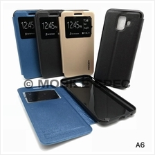 Samsung Galaxy A8 2018 S View Mercury Flip Pouch Stand Case