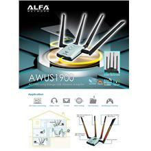 Alfa AWUS1900 802.11ac 1900 Mbps Dual band USB Wifi Adapter