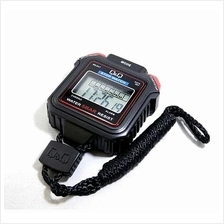 Q&Q Digital Stopwatch 1/100 Sec HS43 made in CITIZEN