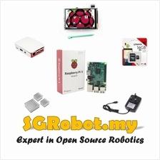 Raspberry Pi 3 Model B 1GB RAM WiFi BLE ( Combo C )