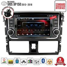 "TOYOTA VIOS 2013 - 2018 DLAA 7"" Full HD Double Din GPS DVD TV Player"