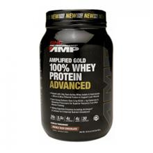 GNC ProPerformance AMP Amplified Gold 100%Whey Protein Advanced)