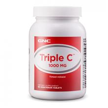 GNC New Triple C 1000 Timed Release (90 Tablets)