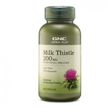 GNC Herbal Plus Milk Thistle 200mg (100 VegiCaps)
