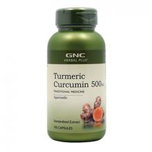 GNC Herbal Plus Turmeric Curcumin 500 mg (100 Capsules)