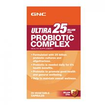 GNC Ultira 25 Billion CFUS Probiotic Complex (30 VegeCaps)