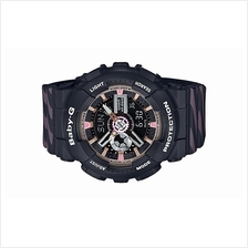 Casio Baby-G Chance Black & Pastel Pink Watch BA-110CH-1ADR