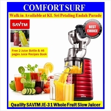 SAVTM JE-31 Whole Slow Juicer 100% Fresh Fruit Extraction Blender