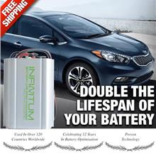 Battery Life Saver Desulfator Optimizer/Pulser 3X lifespan Car/Bike