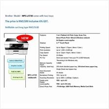 A3 size brother MFC J3720 Inkjet printer