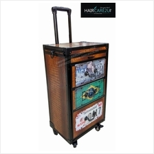 HD0012 Barber Salon Luggage Hairdressing Trolley