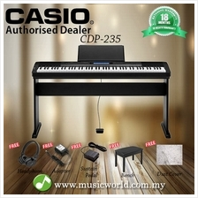 CASIO CDP-235 88 Key Digital Piano Complete Bundle (CDP235 CDP 235)