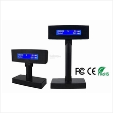 POS SYSTEM VFD210B LCD CUSTOMER POLE DISPLAY-USB/COM PORT