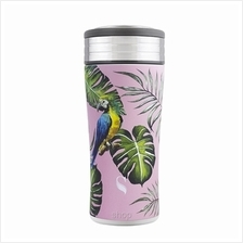 SWANZ 380ml Macaw Wild Life and Nature Collection Tumbler