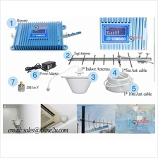 D-Lenp 980 GSM 900Mhz Mobile phone Signal Booster Repeater Yagi LCD Maxis Celc