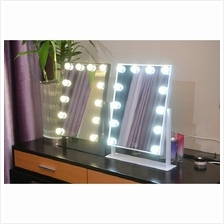 Tabletops Lighted Make up Vanity Mirror with LED Light Bulb Touch Scre