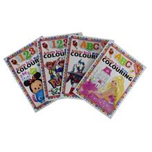 2 Pcs Colouring Stickers Book