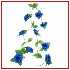 FASHIONABLE DECORATION FLOWERS VINE GARLAND WREATHS BOUQUET LEAF HOUSE..