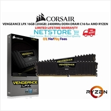 CORSAIR VENGEANCE LPX 16GB (2X8GB) DDR4 RAM 2400MHz for AMD RYZEN