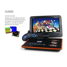Portable Wireless HD DVD Player 300 Games 270 Rotate LCD MP4