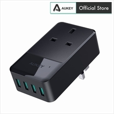 Aukey PA-S11 PowerHub Mini 4 USB Port With 1 Socket Travel Charger