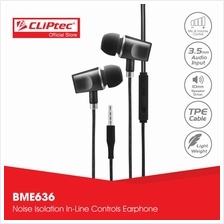 CLiPtec URBAN ART In-Ear Earphone with Mic.  & Volume Control BME636)