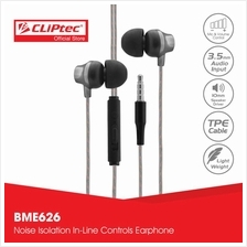 CLiPtec URBAN MUSIC Earphone with Mic.  & Volume Control BME626)