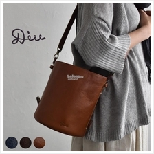 a4b79aea57  Genuine fromJapan DIU Two Way Leather Shoulder Tote Bag (Bucket Type)