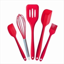 Premium Silicone Kitchen Utensil 5 Set