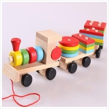 Small Wooden Train Color