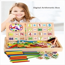 Wooden Multi-function Digital Arithmetic Box