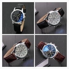 New Fashion Luxury Glass Belt Men's Watch Upscale