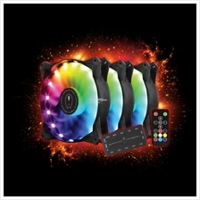 # GAMING FREAK Rainbow LED PC Fan - Starter Kit #