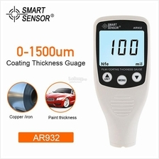 Digital Paint Coating 0-1500um Thickness Gauge Car Automotive Meter