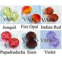 8mm 5000 Swarovski Crystal Round Beads 12p Choose Colours
